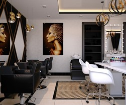 Hyder AK beauty salon